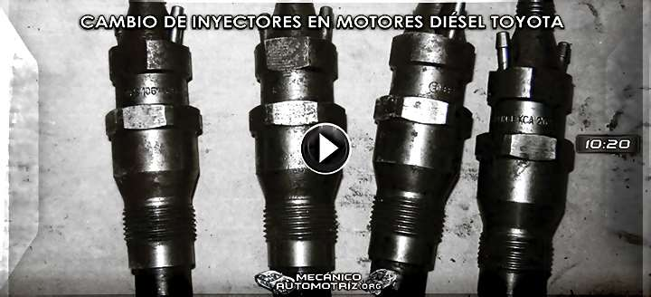 Vídeo de Cómo Cambiar los Inyectores en un Motor Diésel Toyota 2C – Reemplazo