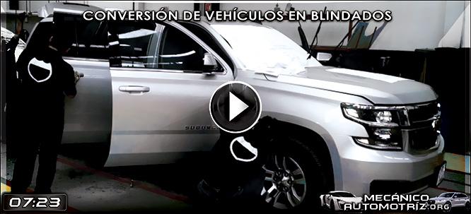 Vídeo de Conversión de una Camioneta Común en Blindada - Documental