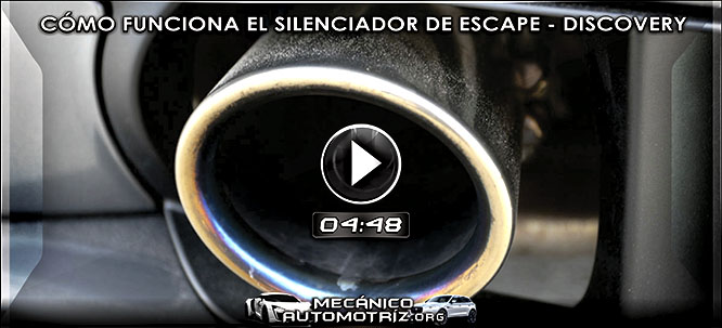 Vídeo de Cómo Funciona el Silenciador de Escape de Motores – Documental