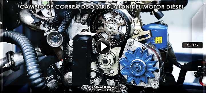 Vídeo de Cómo Reemplazar la Correa de Distribución de un Motor Diésel Peugeot