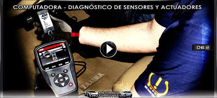 Vídeo de Comprobación de Computadora y Diagnóstico de Sensores y Actuadores