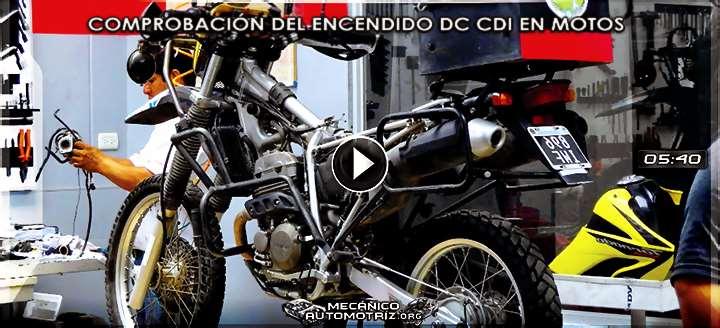 Vídeo de Comprobación del Sistema de Encendido DC CDI en una Moto Honda