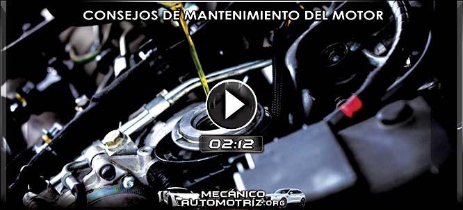 Vídeo de Consejos de Mantenimiento del Motor - Afinación y Cambio de Piezas