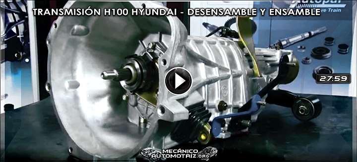 Vídeo de Desensamble y Ensamble de la Transmisión H100 para Dodge y Hyundai