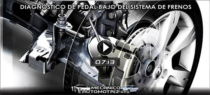 Vídeo de Diagnóstico de Pedal Bajo o Esponjoso en el Sistema de Frenos