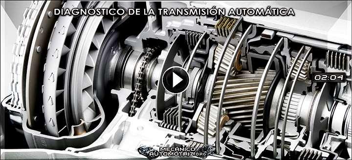 Vídeo de Diagnóstico de la Transmisión Automática - Inspección, Pruebas y Fallas