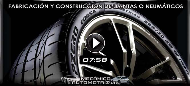 Vídeo Documental de Fabricación y Construcción de Llantas o Neumáticos