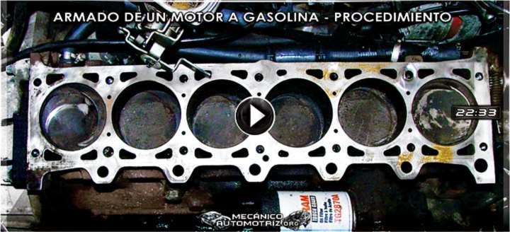 Vídeo: Ensamblaje y Armado de un Motor a Gasolina - Componentes y Procedimiento