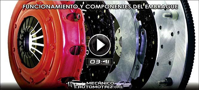 Vídeo de Funcionamiento del Embrague - Partes, Componentes, Mantenimiento
