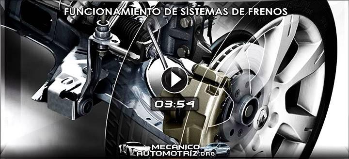Vídeo del Funcionamiento de Sistemas de Frenos - Componentes y Mecanismo