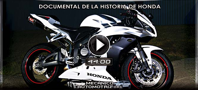 Vídeo de la Historia de Honda en Motos - Documental Discovery