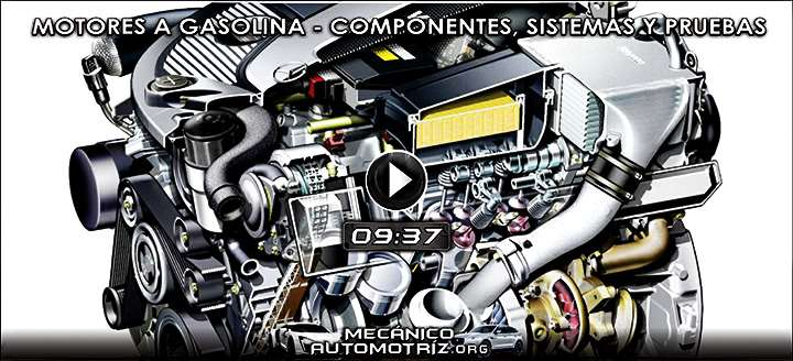 Vídeo: Motores a Gasolina - Componentes, Sistema de Distribución, Ciclos y Pruebas