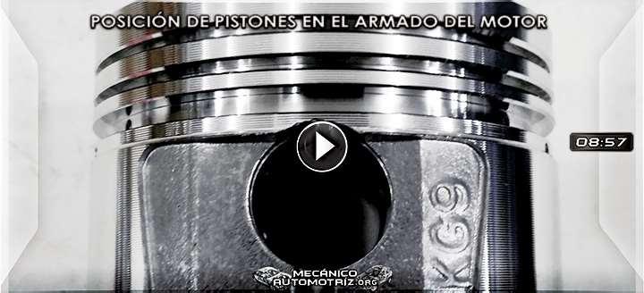 Vídeo: Posición de Pistones en el Armado del Motor – Mecánica y Funcionamiento