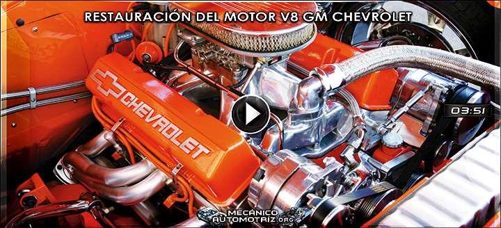 Vídeo de Restauración de un Motor V8 GM Chevrolet – Reparación y Reconstrucción
