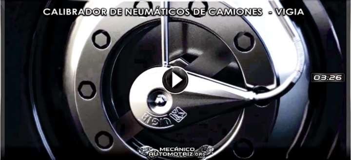 Vídeo: Sistema Calibrador de Neumáticos de Camiones de Carretera - Colven Vigia
