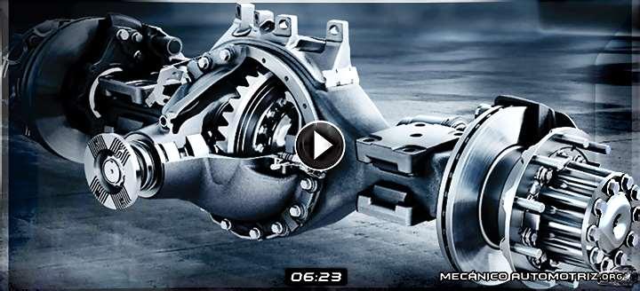 Vídeo de Sistema Diferencial de Camiones Mercedes-Benz Actros y Funcionamiento