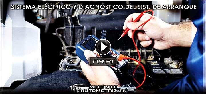 Vídeo del Sistema Eléctrico Automotriz y Diagnóstico del Sistema de Arranque