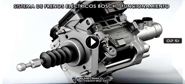 Vídeo del Sistema de Frenos Eléctricos Bosch – Tecnología y Funcionamiento