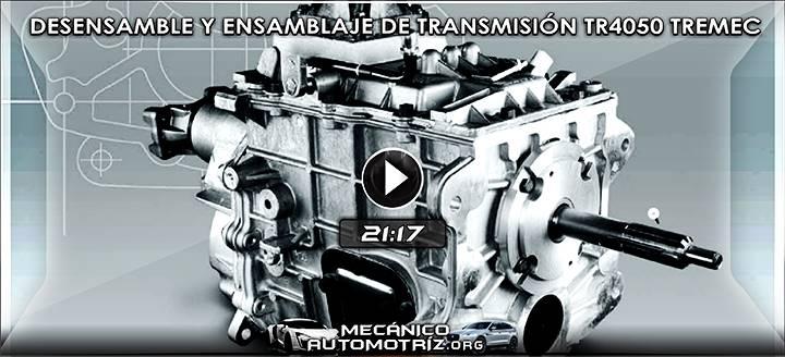 Vídeo de la Transmisión TR4050 Tremec - Desensamble y Ensamblaje