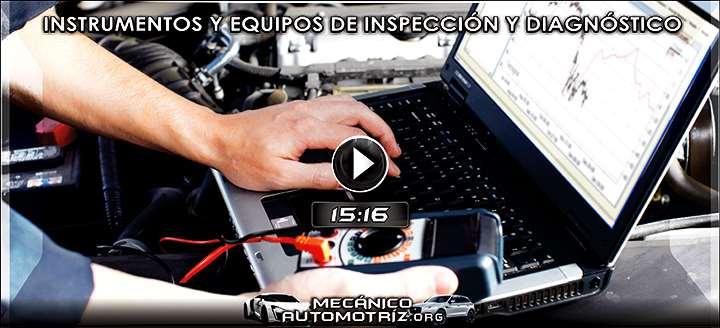 Vídeo de Uso del Multímetro, Osciloscopio y Vernier - Inspección y Diagnóstico