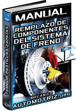 Manual: Remplazo de Componentes del Sistema de Freno – Tambor, Pastillas y Zapata