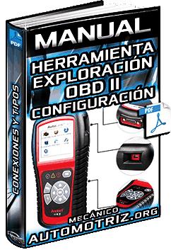 Manual: Herramienta de Exploración OBD y MOBD – Configuración, Tipos y Conexiones