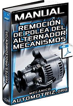 Manual de Remoción de la Polea del Alternador – Partes y Procedimientos