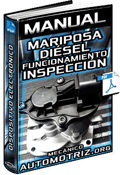 Manual: Mariposa Diésel y Sistema EGR – Inspección, Funcionamiento y Mantenimiento
