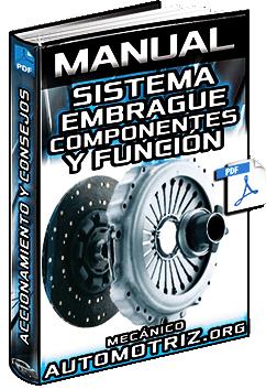 Manual de Embrague – Componentes, Función, Accionamiento y Mantenimiento
