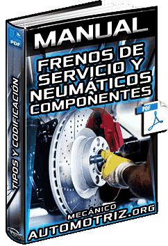 Manual de Frenos de Servicio y Neumáticos – Tipos, Componentes, Función y Codificación
