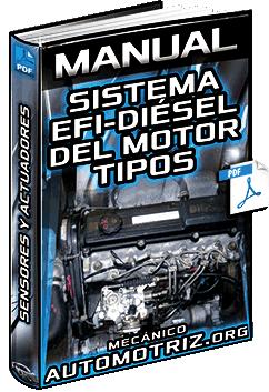 Manual: Sistema Efi-Diésel del Motor – Tipos, Configuraciones, Sensores y Actuadores