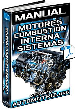 Manual: Motores de Combustión Interna – Sistemas, Clasificación, Componentes y Funciones