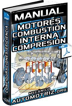 Manual: Motores de Combustión Interna – Tipos, Configuraciones y Eficiencia