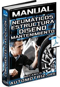 Manual: Neumáticos – Estructura, Componentes, Tipos, Desgaste y Mantenimiento