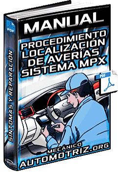 Manual: Localización y Reparación de Averías en Sistema MPX – Procedimientos