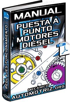 Manual: Puesta a Punto en Motores Diésel – Inyección, Regulación y Reglajes