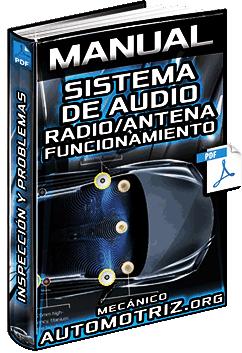 Manual: Sistema de Audio – Funcionamiento de Radio, Antena, Ruido y Recepción
