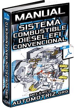 Manual: Sistema de Combustible Diésel – Componentes, Sincronización y Mantenimiento