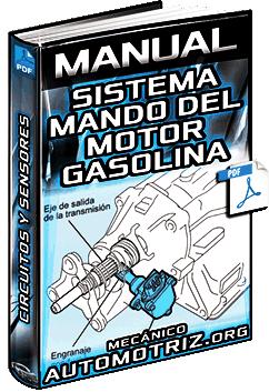 Manual: Sistema de Mando del Motor de Gasolina – Circuitos, Sensores y Mantenimiento