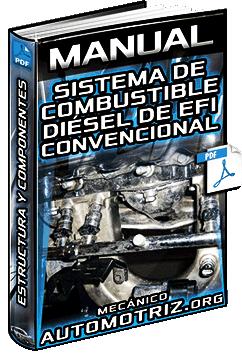 Manual: Sistema de Combustible Diésel de EFI Convencional – Estructura y Componentes