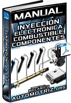 Manual: Inyección Electrónica de Combustible – Componentes, Funcionamiento y Mantenimiento