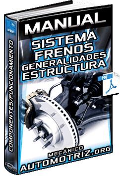 Manual de Sistema de Frenos – Estructura, Componentes y Funcionamiento