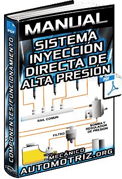 Manual: Sistema de Inyección Directa de Alta Presión – Componentes y Funcionamiento