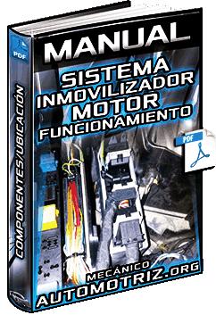 Manual de Sistema Inmovilizador del Motor – Funcionamiento, Componentes y Ubicación