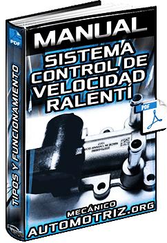 Manual: Sistema de Control de Velocidad de Ralentí – Válvulas, Tipos y Funcionamiento