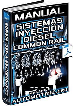 Manual de Sistemas de Inyección Diésel – Componentes, Common Rail y Mecanismos