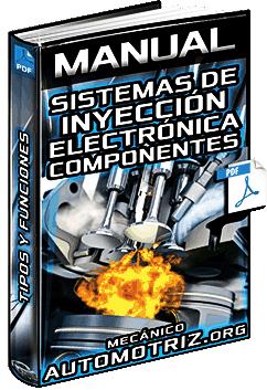 Manual: Sistemas de Inyección Electrónica – Clasificación, Componentes y Funciones