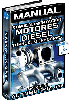 Manual: Sobrealimentación en Motores Diésel – Turbocompresores y Componentes