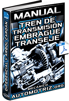 Manual: Tren de Transmisión - Embrague, Transeje, Diferencial, Árbol, Cardán y Ejes