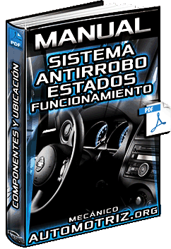 Manual de Sistema Antirrobo - Estados, Componentes, Ubicación y Funciones